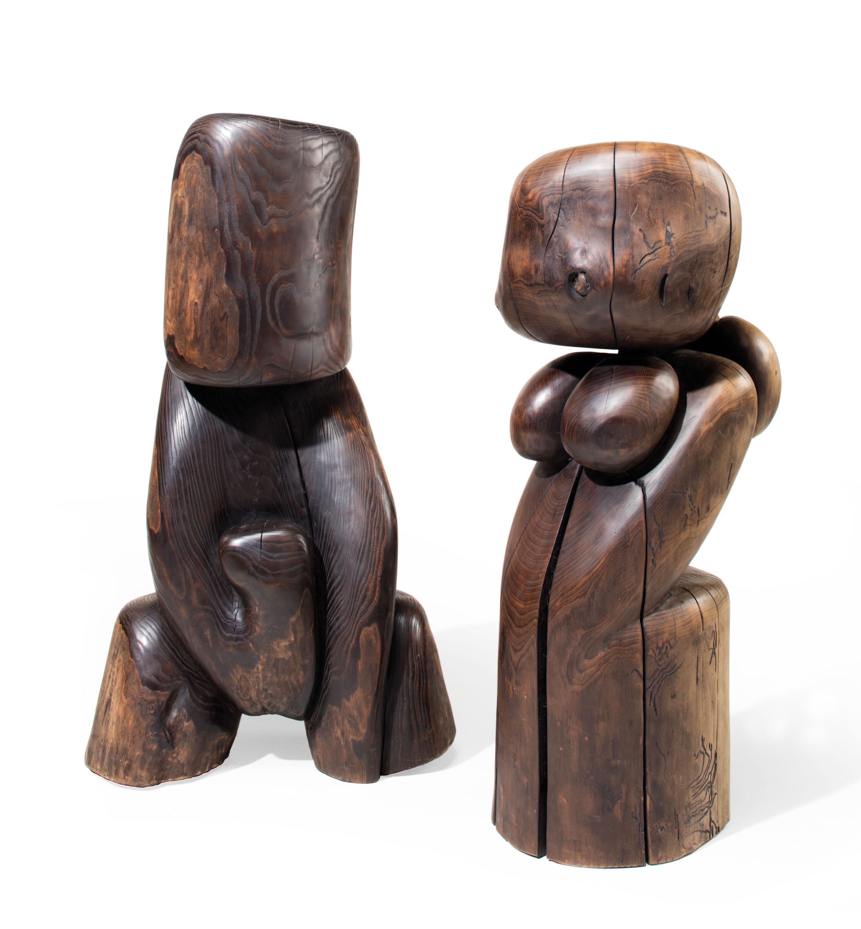 Untitled (Male); & Untitled (Female)