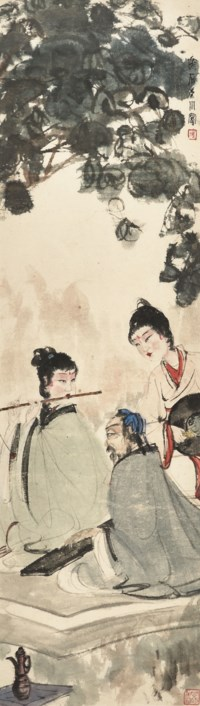 Playing Flute in Dongshan