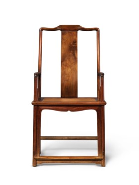 A RARE HUANGHUALI SOUTHERN OFFICIAL'S HAT ARMCHAIR, NANGUANM