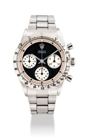 ROLEX A FINE, VERY RARE AND HIGHLY ATTRACTIVE STAINLESS STEE