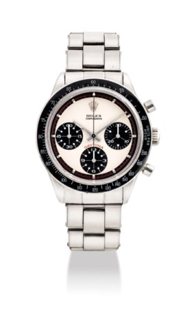 ROLEX A FINE, VERY RARE AND VERY ATTRACTIVE STAINLESS STEEL