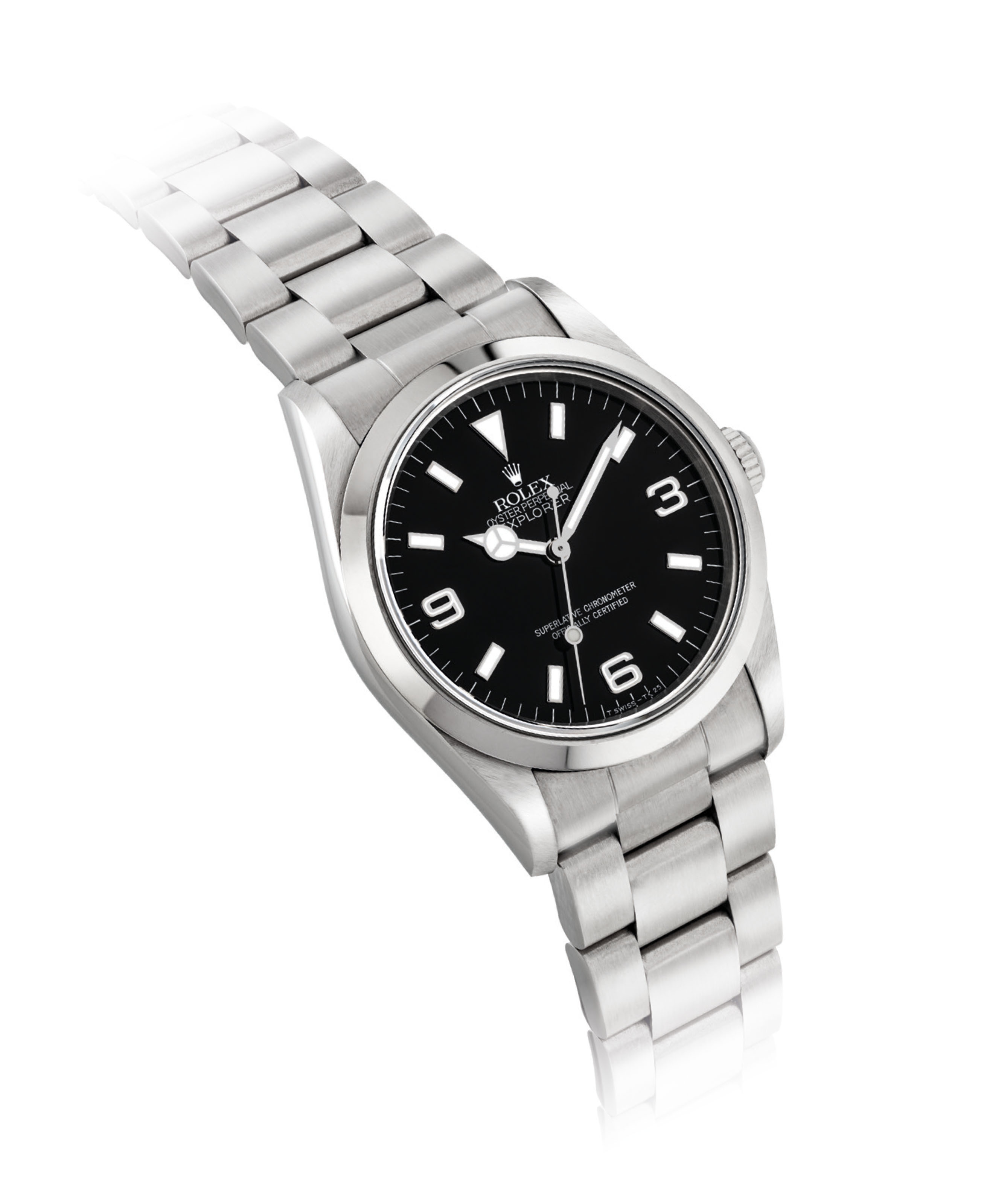 ROLEX A STAINLESS STEEL AU