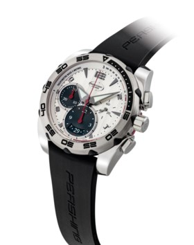 PARMIGIANI. A STAINLESS STEEL AUTOMATIC CHRONOGRAPH WRISTWAT