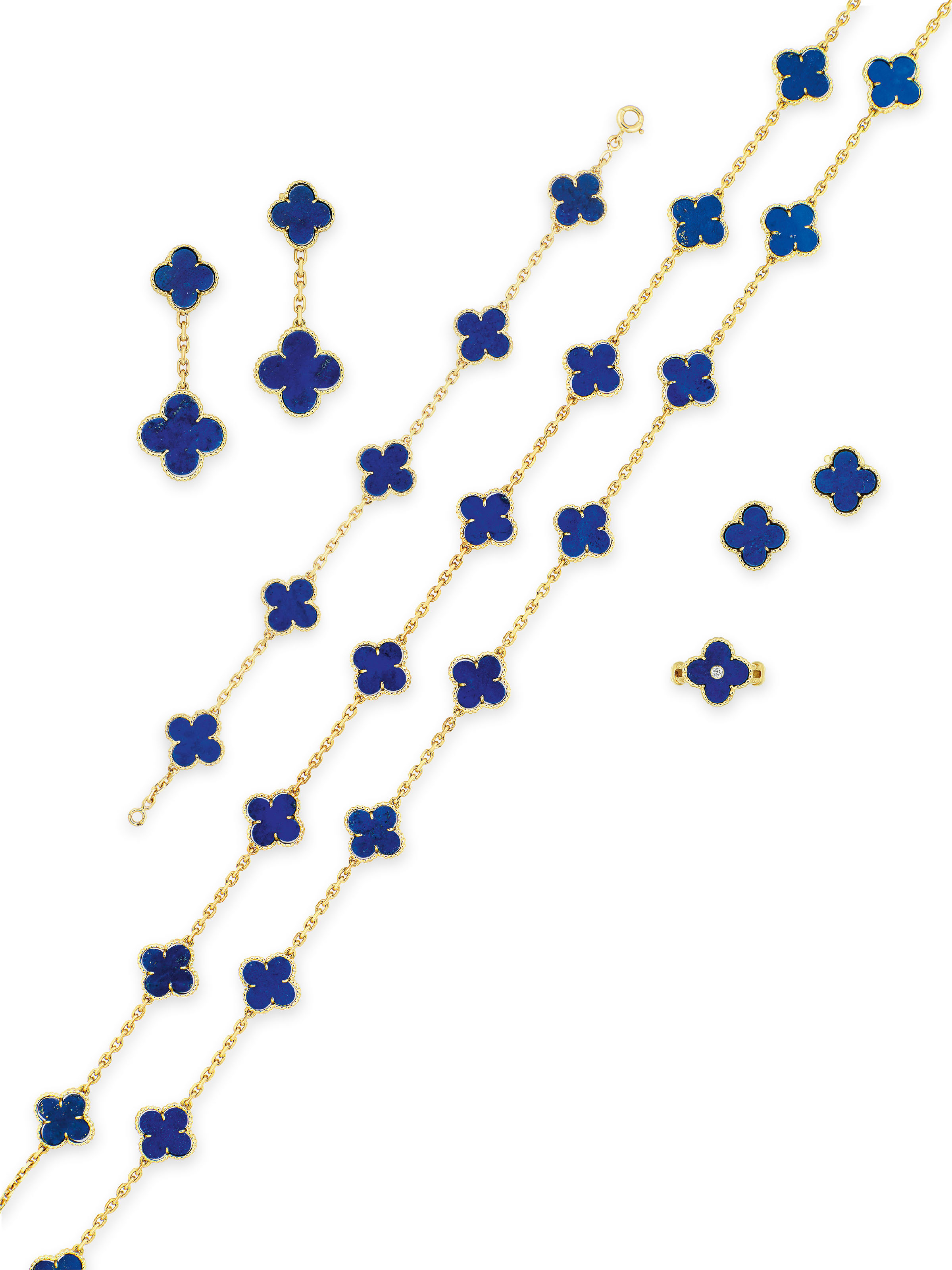 LAPIS LAZULI AND DIAMOND 'ALHA
