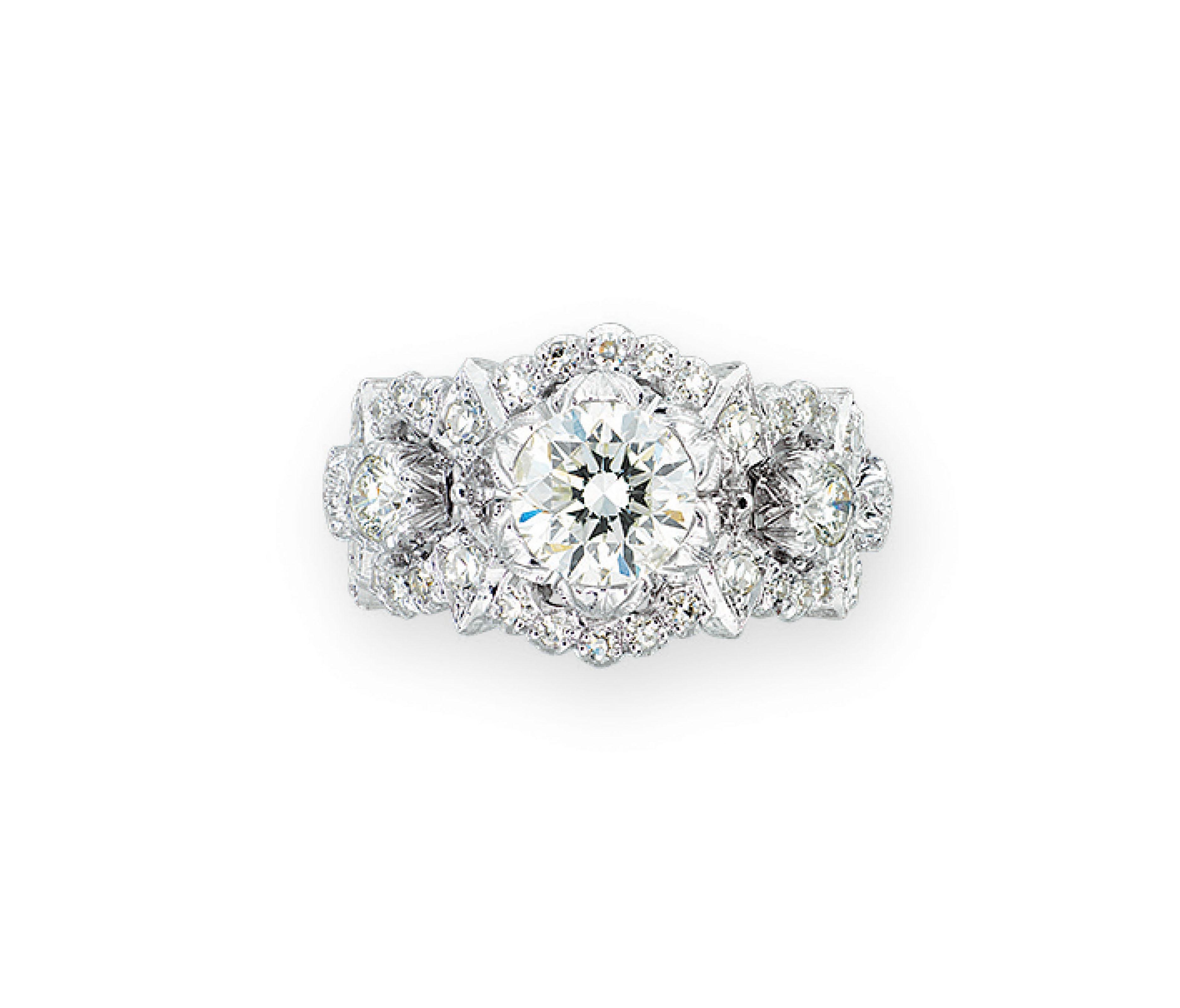 DIAMOND RING, BUCCELLATI