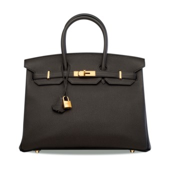 b04c503adef4 A BLACK TOGO LEATHER BIRKIN 35 WITH GOLD HARDWARE. HERMÈS, 2017