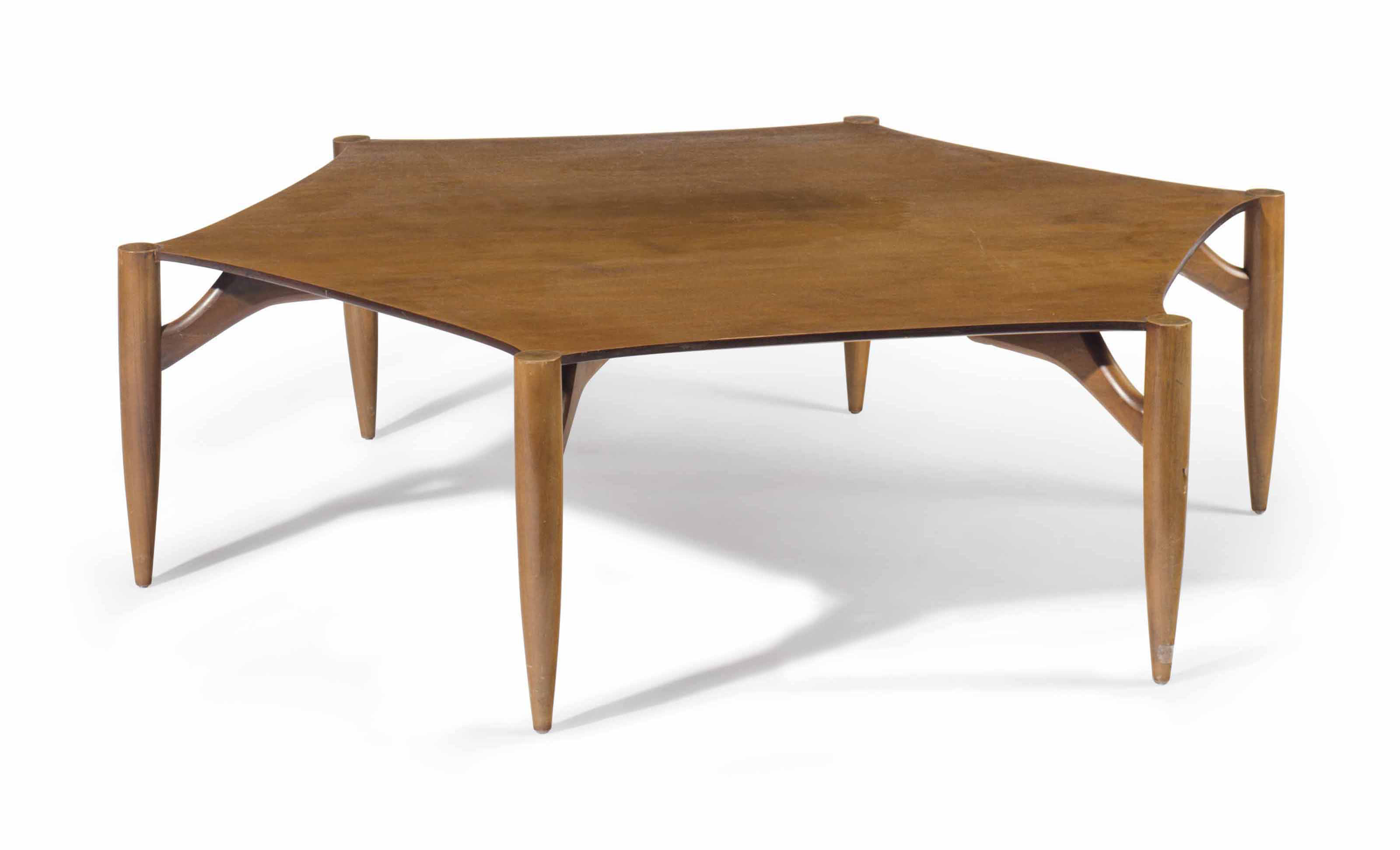 Awe Inspiring Greta Magnusson Grossman 1906 1999 A Hexagonal Coffee Gmtry Best Dining Table And Chair Ideas Images Gmtryco
