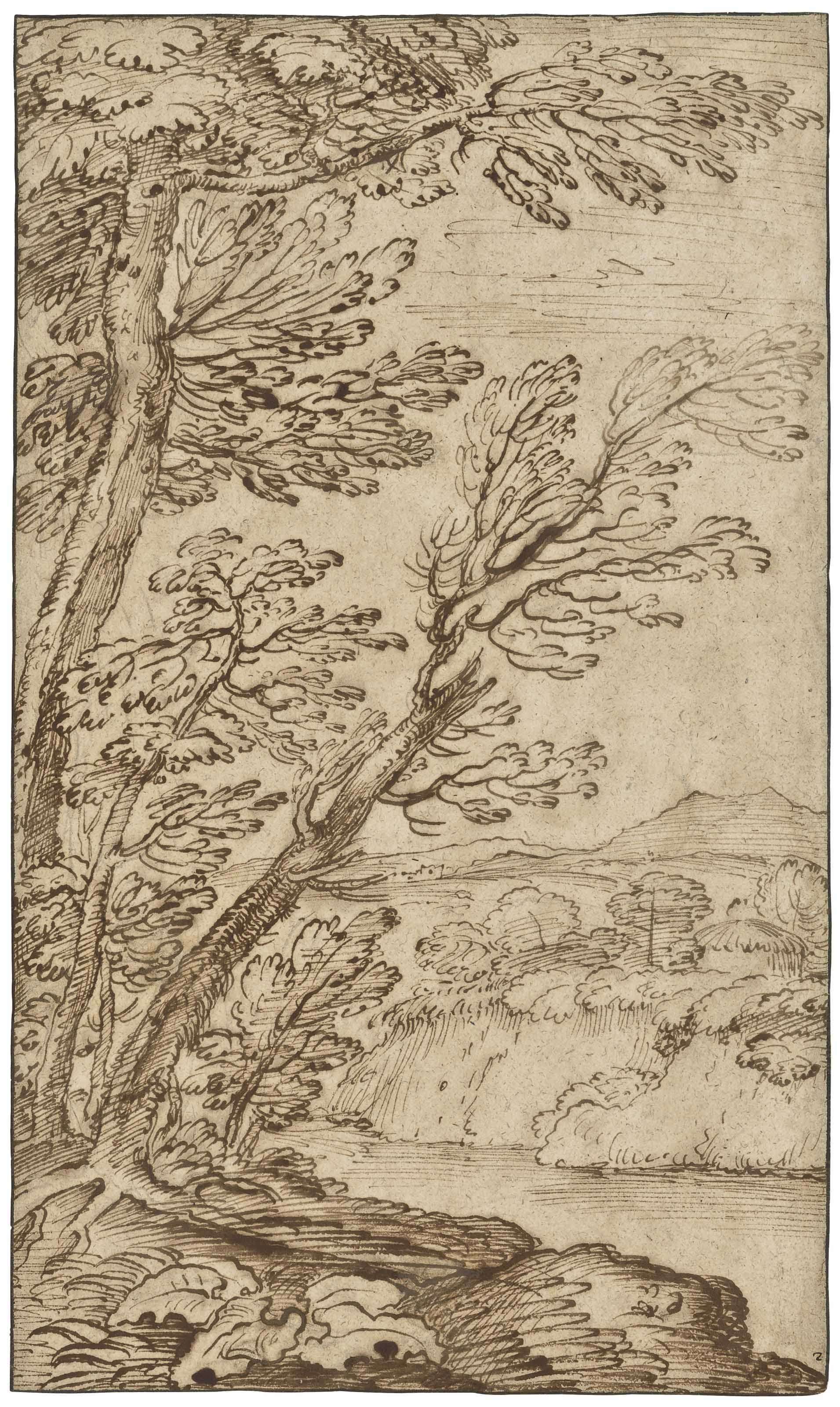 Giovanni Francesco Grimaldi, called il Bolognese (Bologna 1606-1680 Rome)