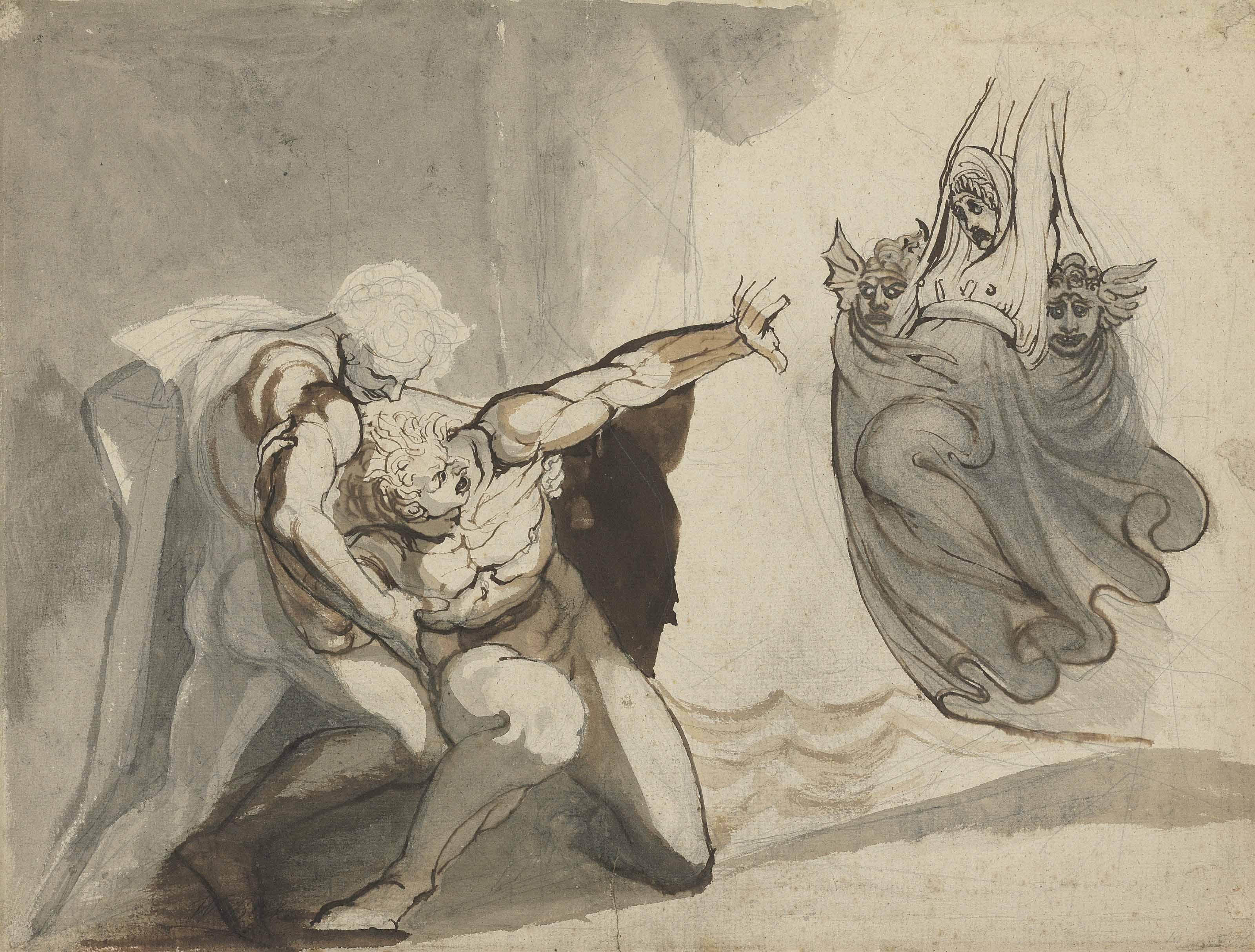 Johann Heinrich Füssli, Henry Fuseli, R.A. (Zurich 1741-1825 Putney Hill)