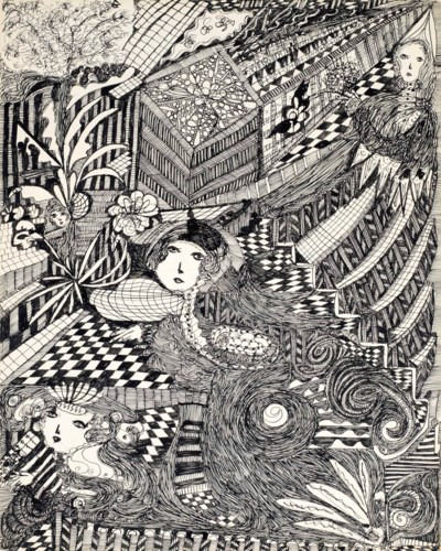 Madge Gill (1884-1961)