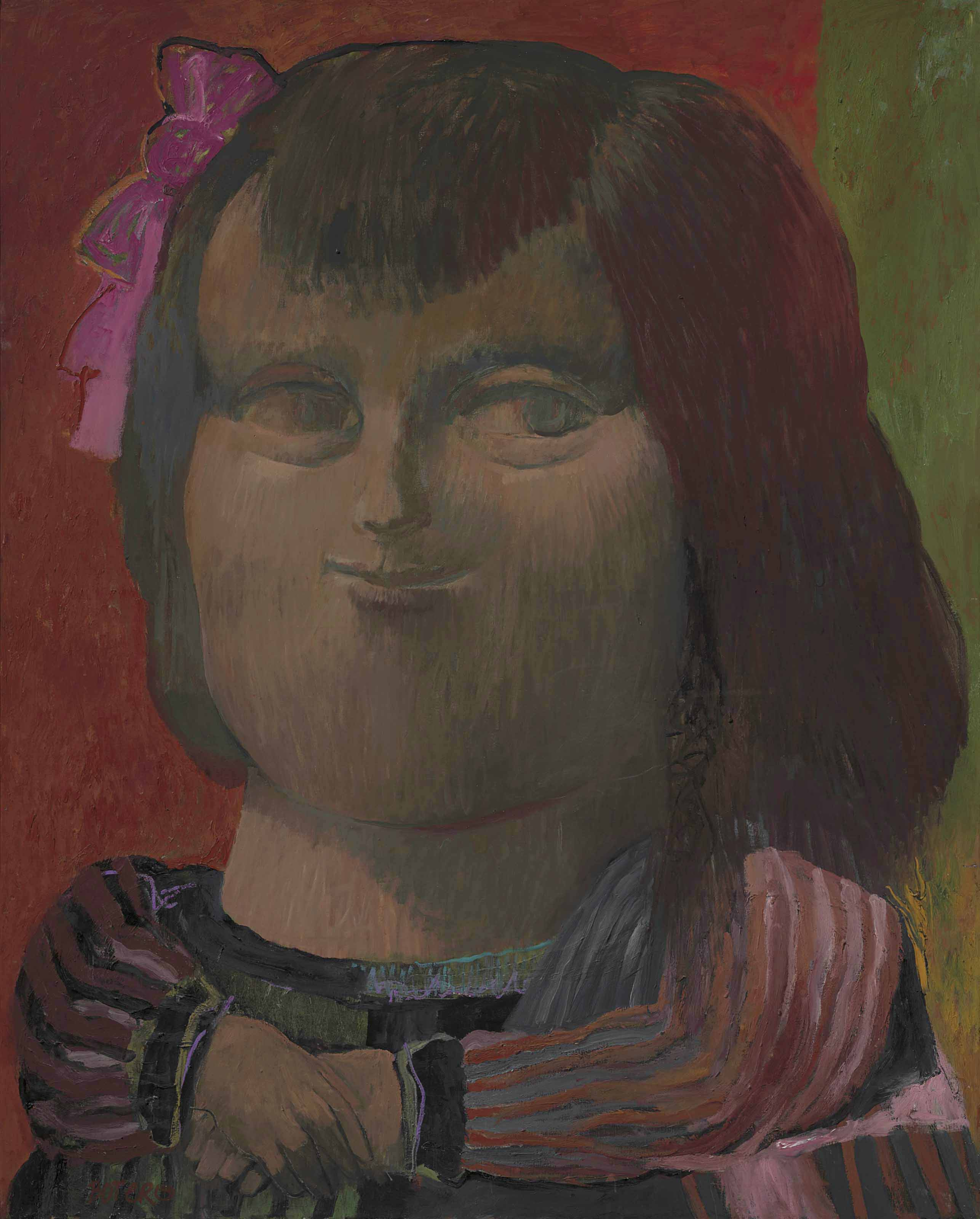 Fernando Botero B 1932 Mona Lisa 1950s Paintings Christies