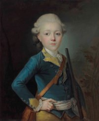 Portrait of Simon Antoine de Lucy, half-length