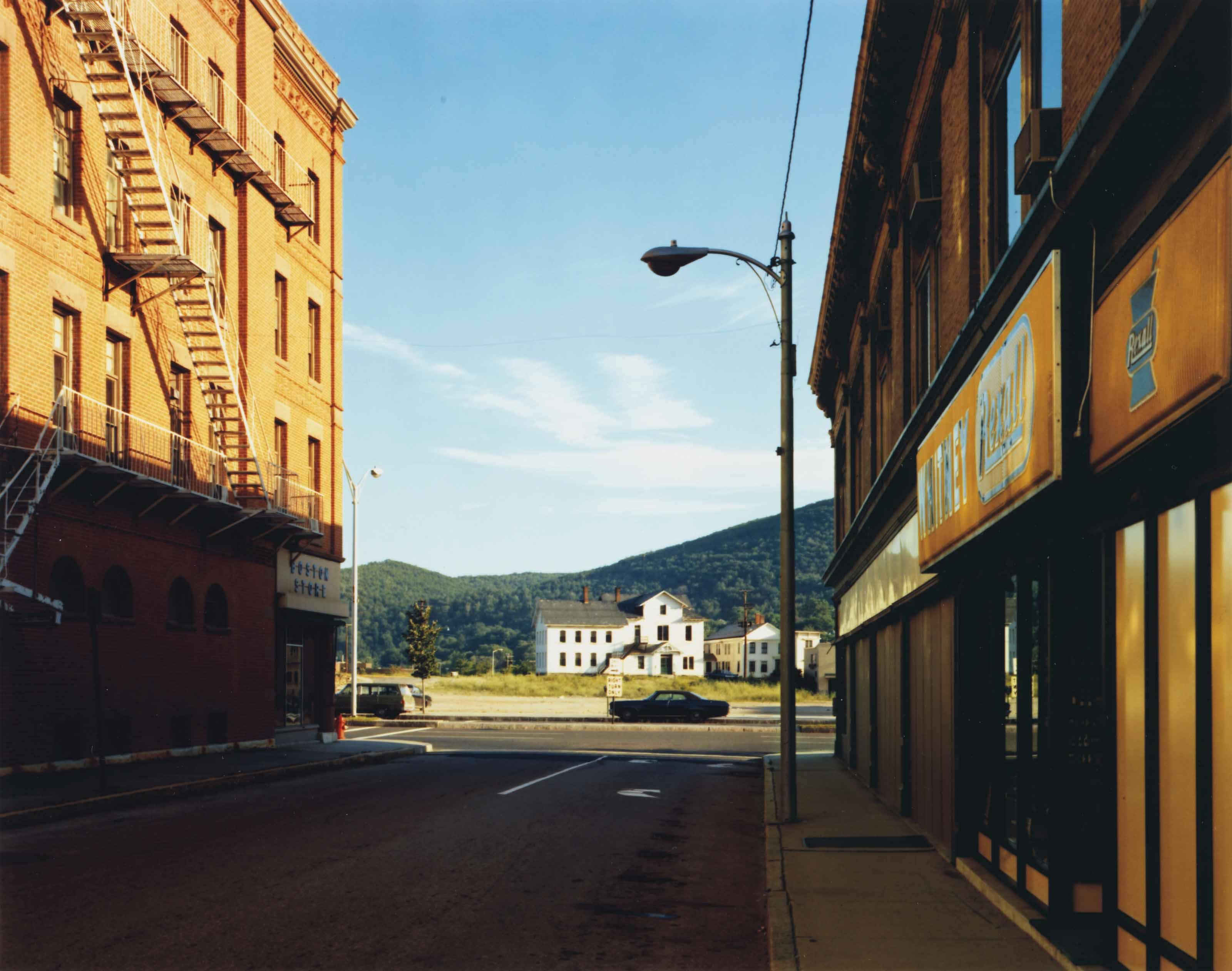 Holden Street, North Adams, Massachusetts, July 13, 1974