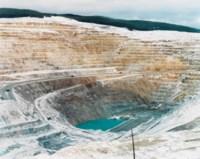 Mines #17, Lornex Open Pit Copper Mine, High Valley, British Columbia, 1985