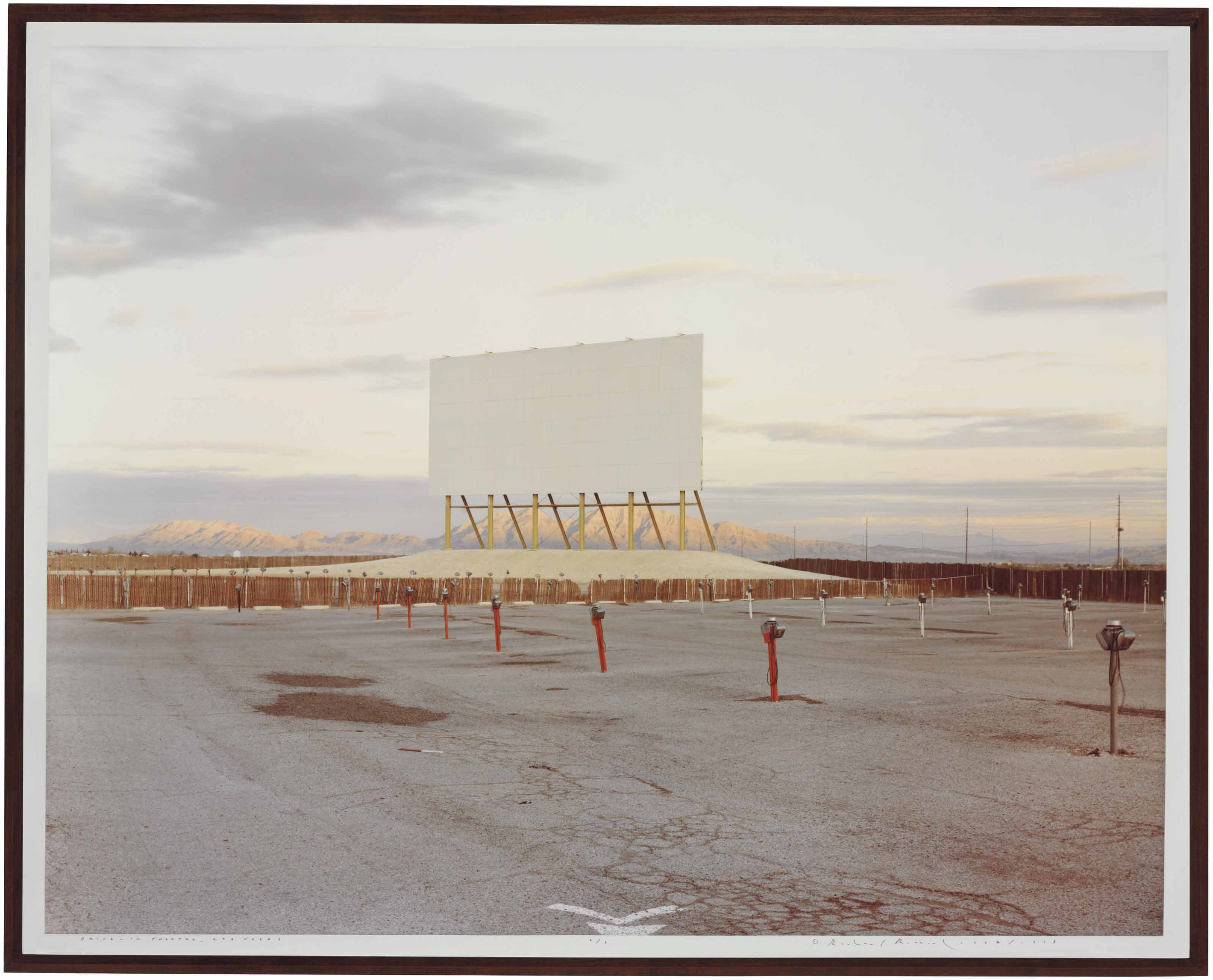 Drive-in Theatre, Las Vegas from 'American History Lessons', 1987