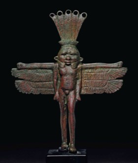 AN EGYPTIAN BRONZE BES