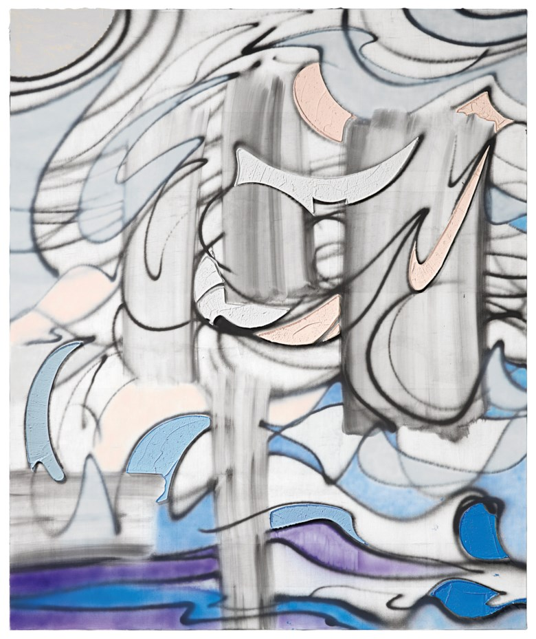 Property to benefit global wildlife conservation. Keltie Ferris (b. 1977), Ghost Trees, painted in 2018. 72 x 60  in (182.9 x 152.4  cm). Estimate $30,000-50,000. This lot is offered in Post-War to Present on 27 September 2018 at Christie's in New York