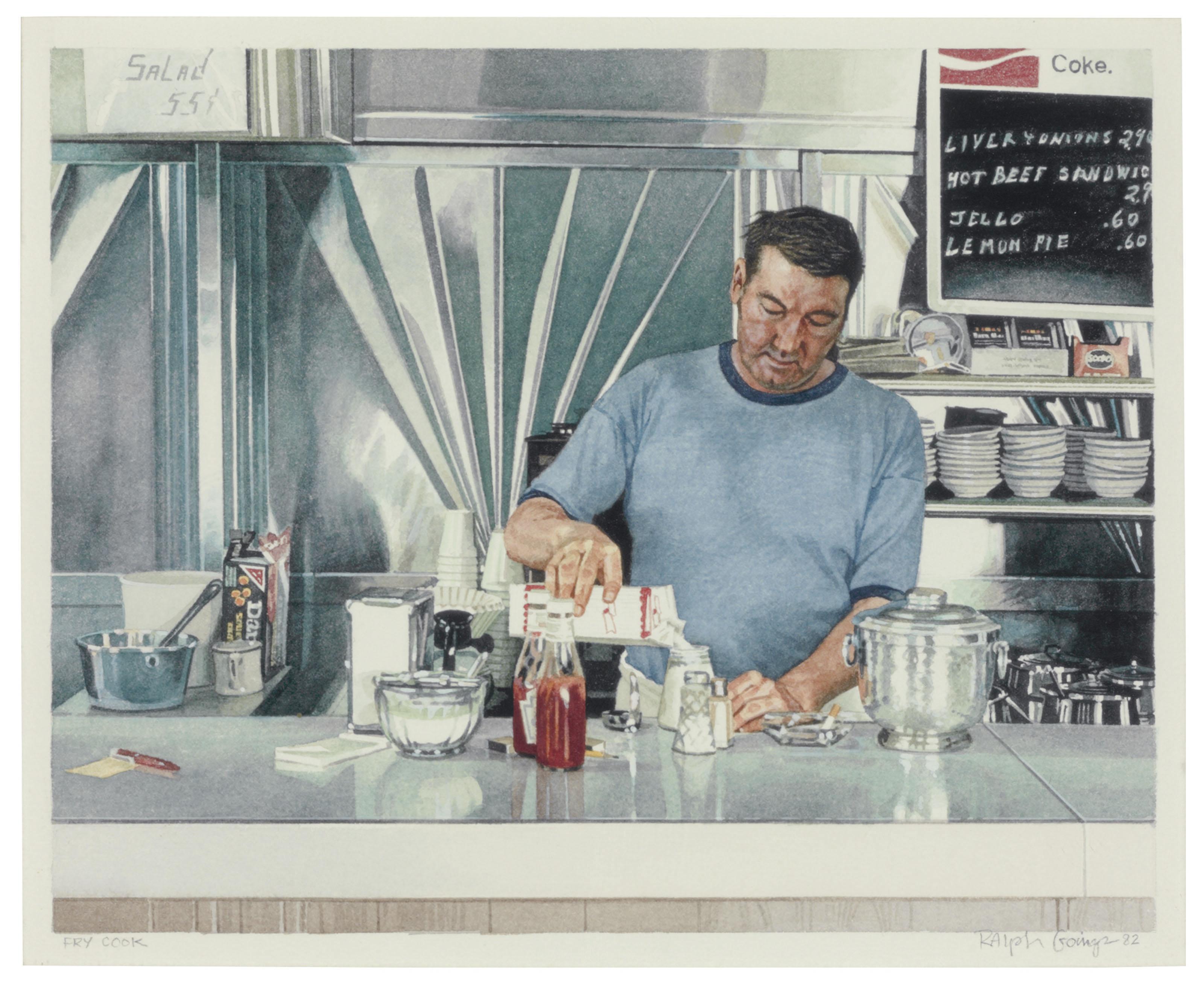 Ralph Goings (1928-2016)