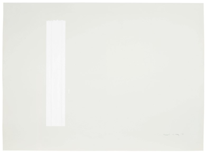 Anne Truitt (1921-2004), 13 July '73, painted in 1973. 22 ⅛ x 30  in (56.2 x 76.2  cm). Estimate $12,000-18,000. This lot is offered in Post-War to Present on 27 September 2018 at Christie's in New York