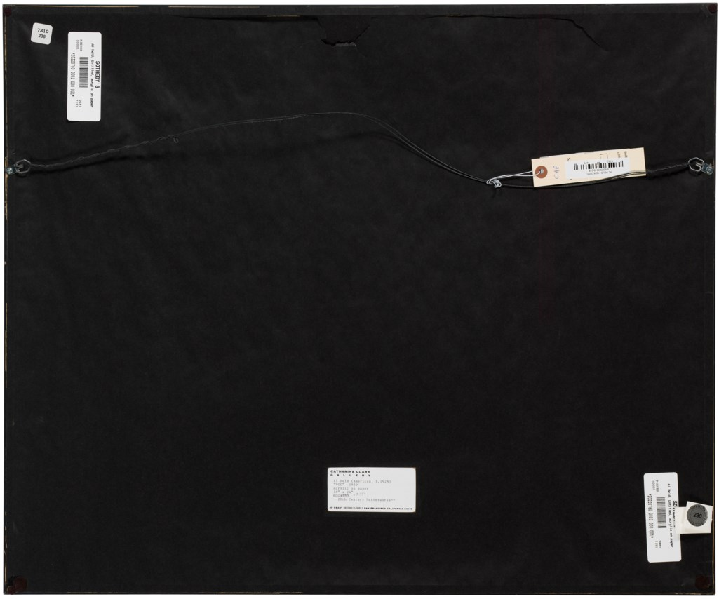 AL HELD (1928-2005), Untitled