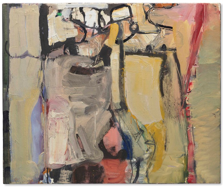 Richard Diebenkorn (1922-1993), Berkeley #25, 1954. 17⅞ x 21⅝  in (45.4 x 54.9  cm). Estimate $700,000-1,000,000. Offered in Post-War and Contemporary Art Evening Sale on 17 May at Christie's in New York