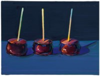 Three Candied Apples