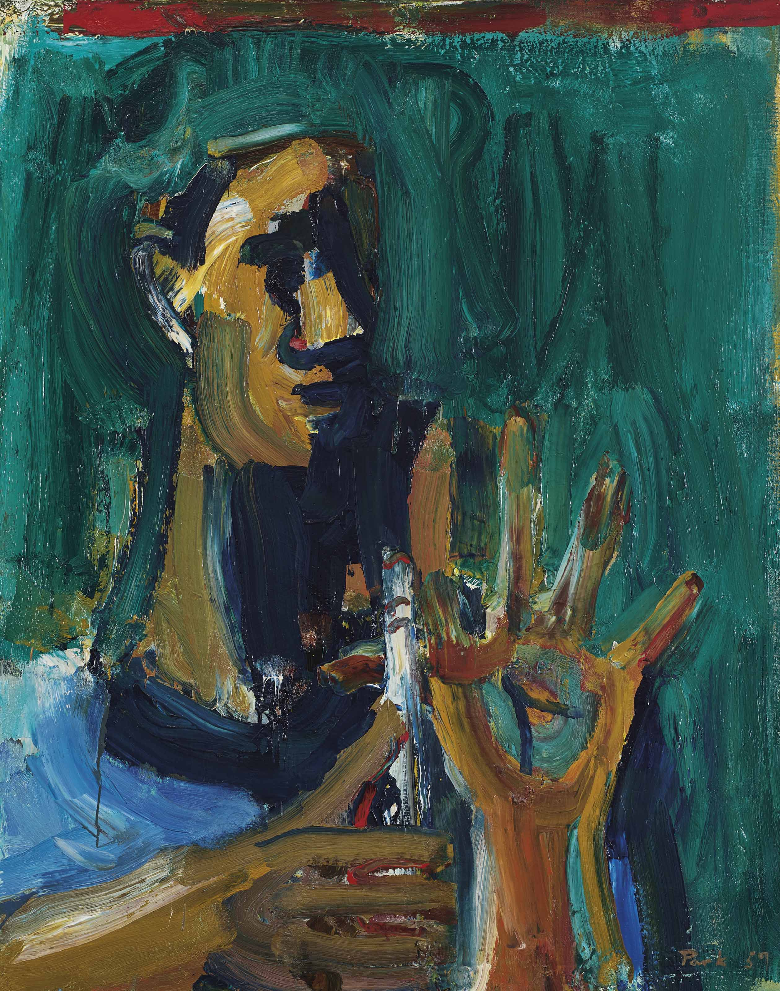 David Park 1911 1960 Boy With Flute 1950s Paintings Christie S