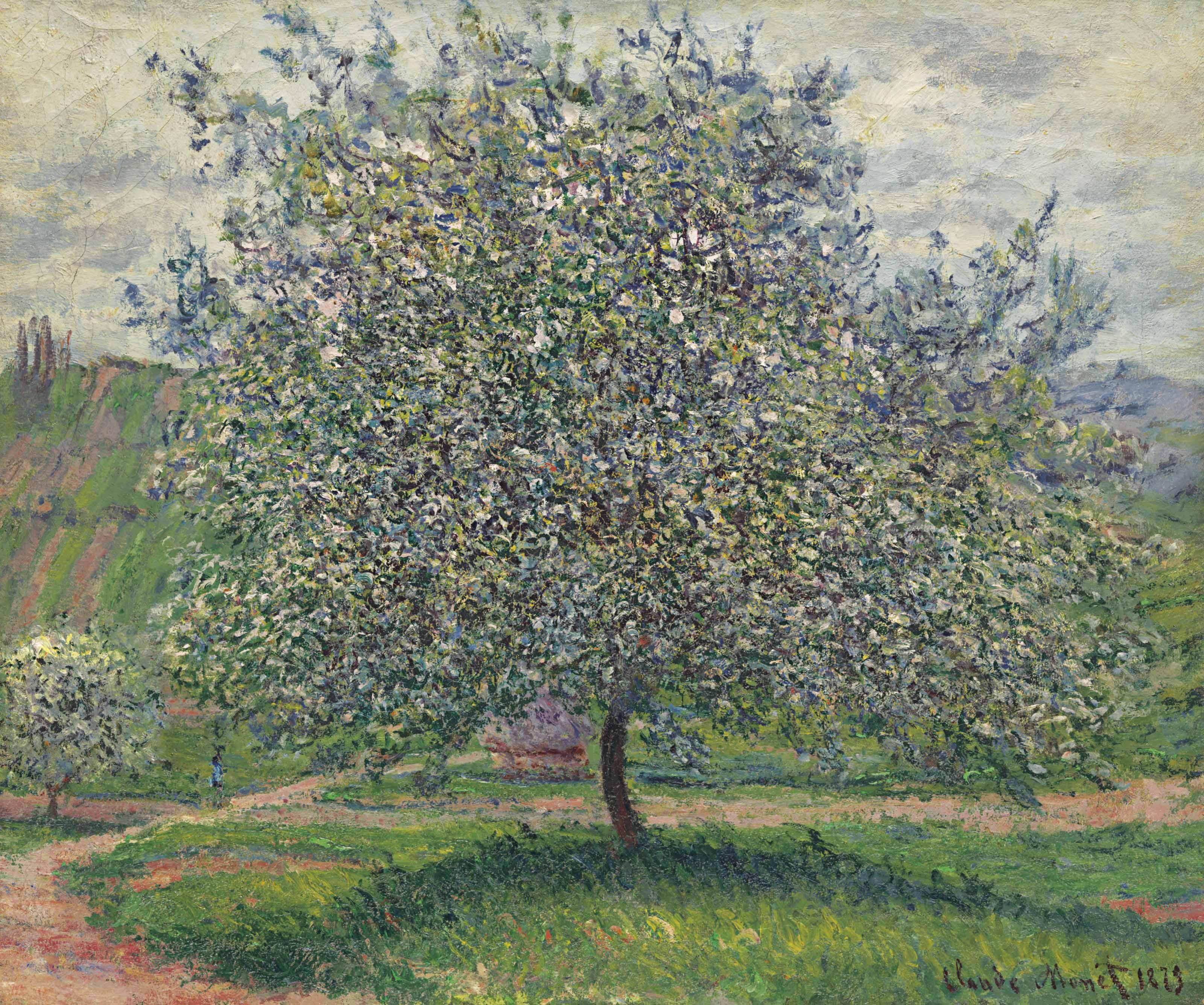 Claude Monet (1840-1926) | Le Pommier | 19th Century, Paintings | Christie's