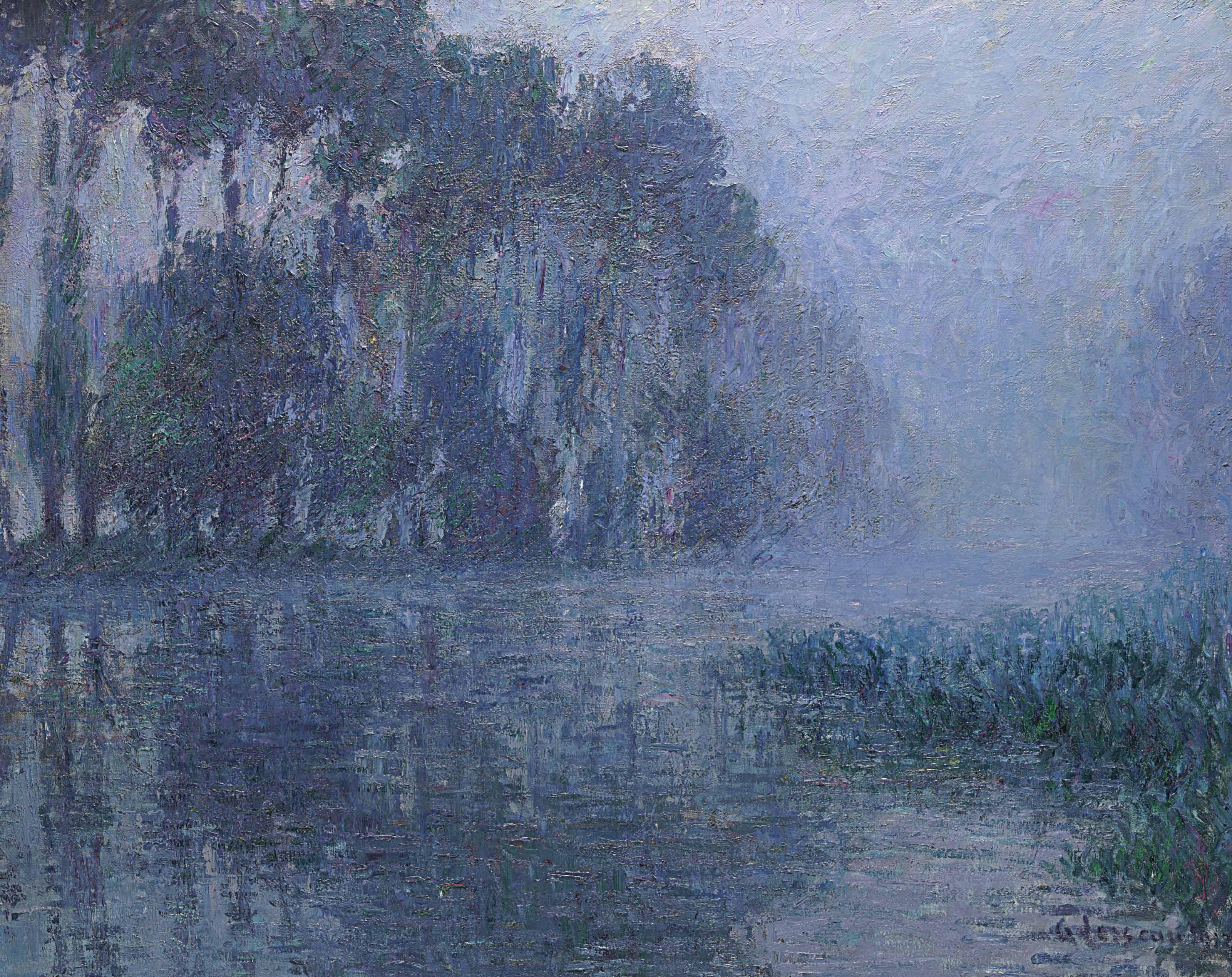 Brume sur l'Eure, environs de Saint-Cyr-du-Vaudreuil
