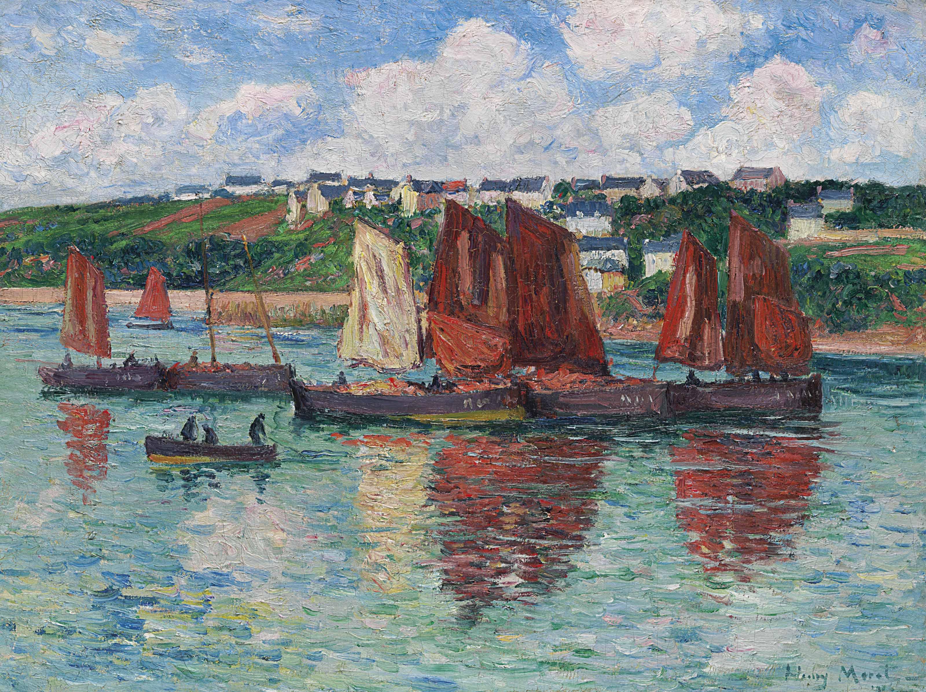 Les bateaux de pêche à Audierne