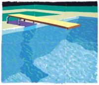 Sprungbrett mit Schatten (Paper Pool 14)