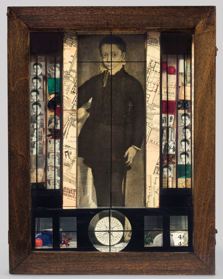 Joseph Cornell (1903-1972), Medici Slot Machine Object, executed in 1942. 15½ x 12 x 4⅜  in (39.4 x 30.5 x 11  cm). Estimate $4,000,000-6,000,000. This lot is offered in Post-War and Contemporary Art Evening Sale on 15 November 2018 at Christie's in New York © The Joseph and Robert Cornell Memorial FoundationVAGA, NYDACS, London 2018