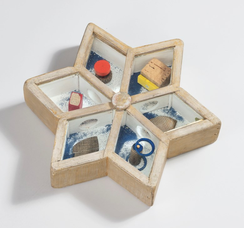Joseph Cornell (1903-1972), Untitled (Star Game), executed circa 1948. 2⅝ x 12¾ x 11 in (6.7 x 32.4 x 28  cm). Estimate $600,000-800,000. This lot is offered in Post-War and Contemporary Art Evening Sale on 15 November 2018 at Christie's in New York © The Joseph and Robert Cornell Memorial FoundationVAGA, NYDACS, London 2018