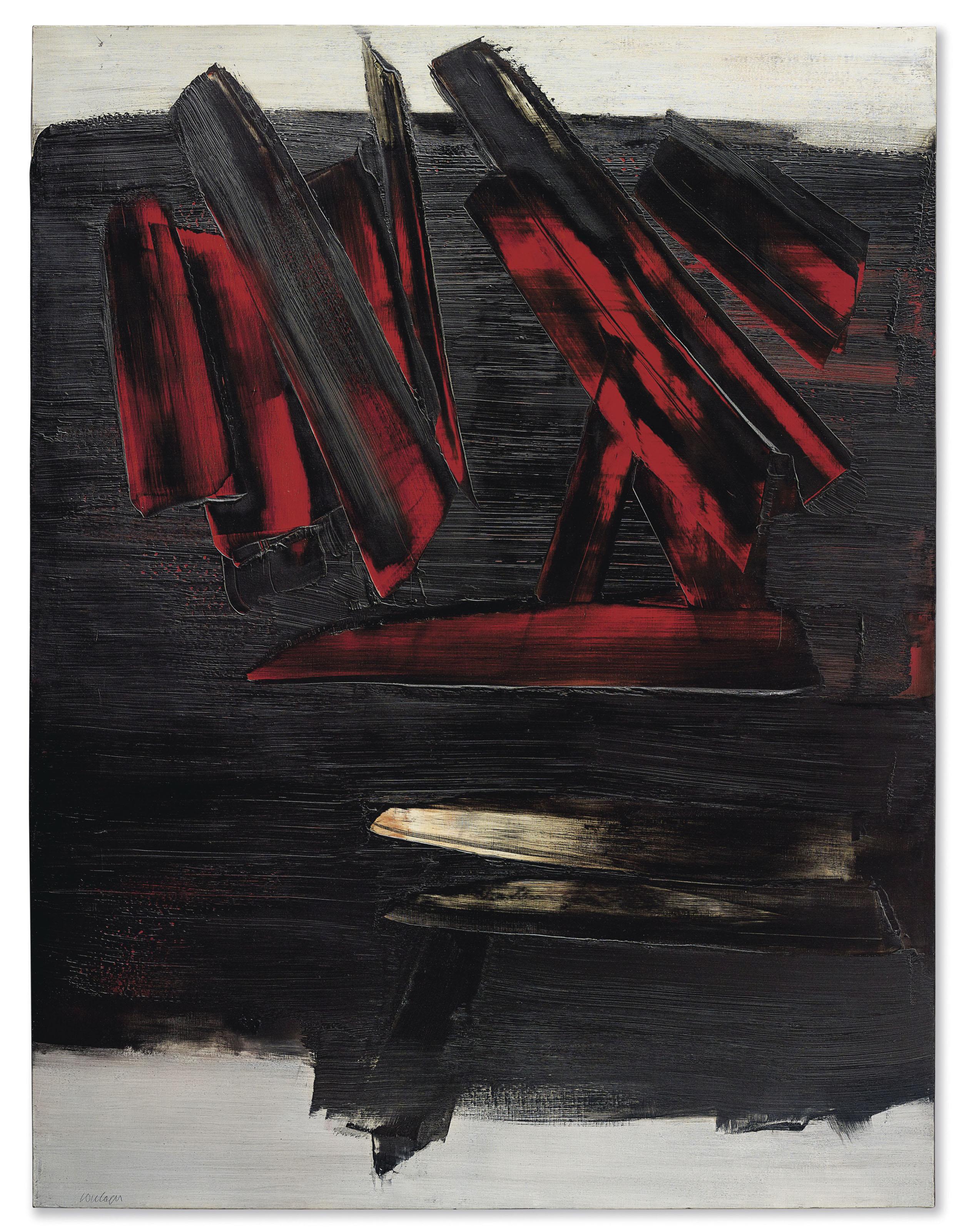 Pierre Soulages (b  1919) | Peinture 186 x 143 cm, 23