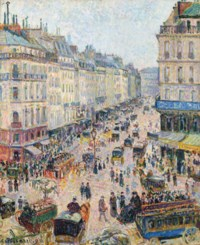 La Rue Saint-Lazare, temps lumineux