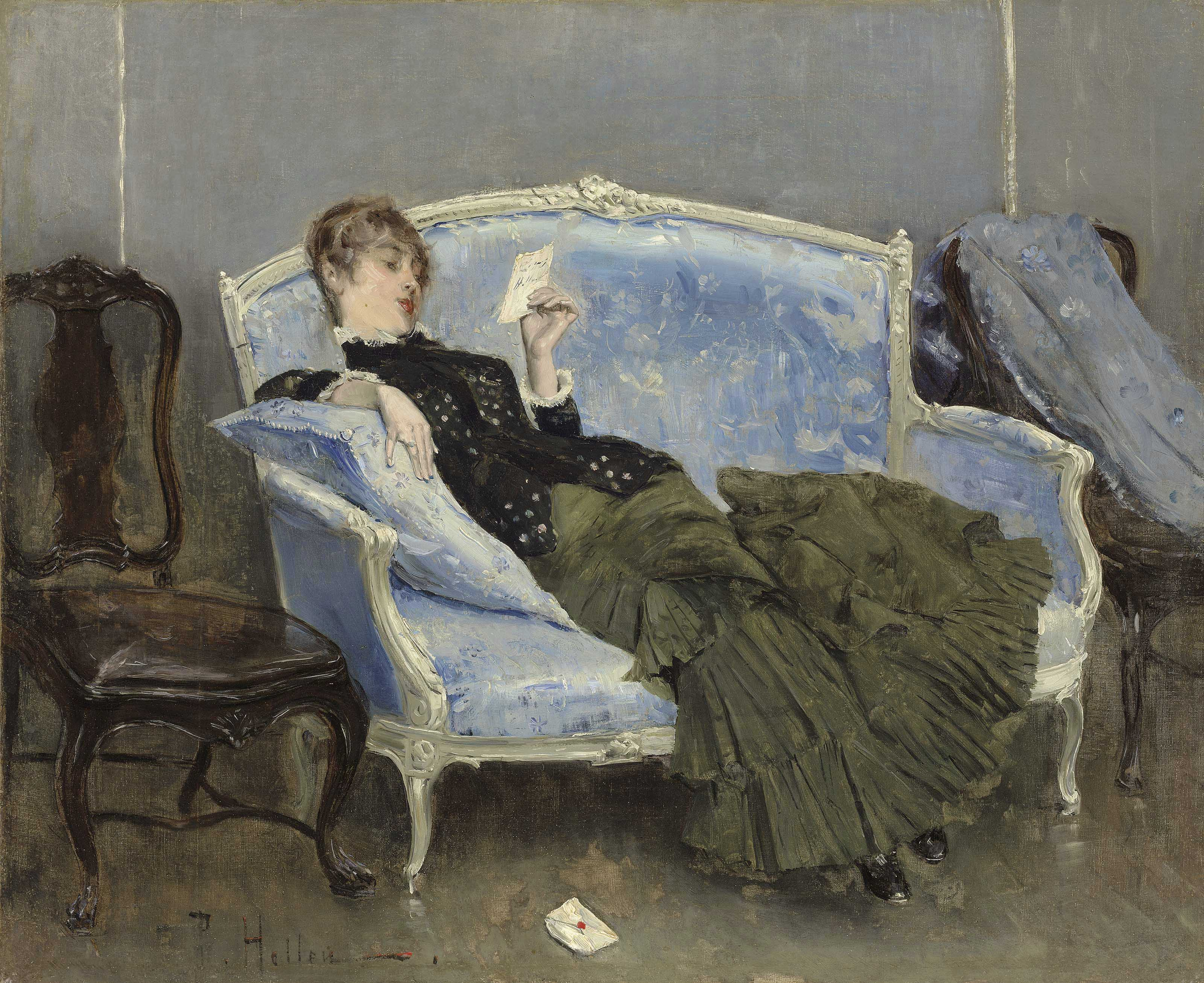 Paul-César Helleu (French, 185