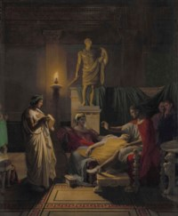 Virgil Reading from the Aeneid