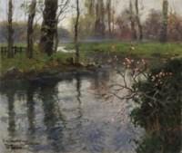 A Stream in Springtime