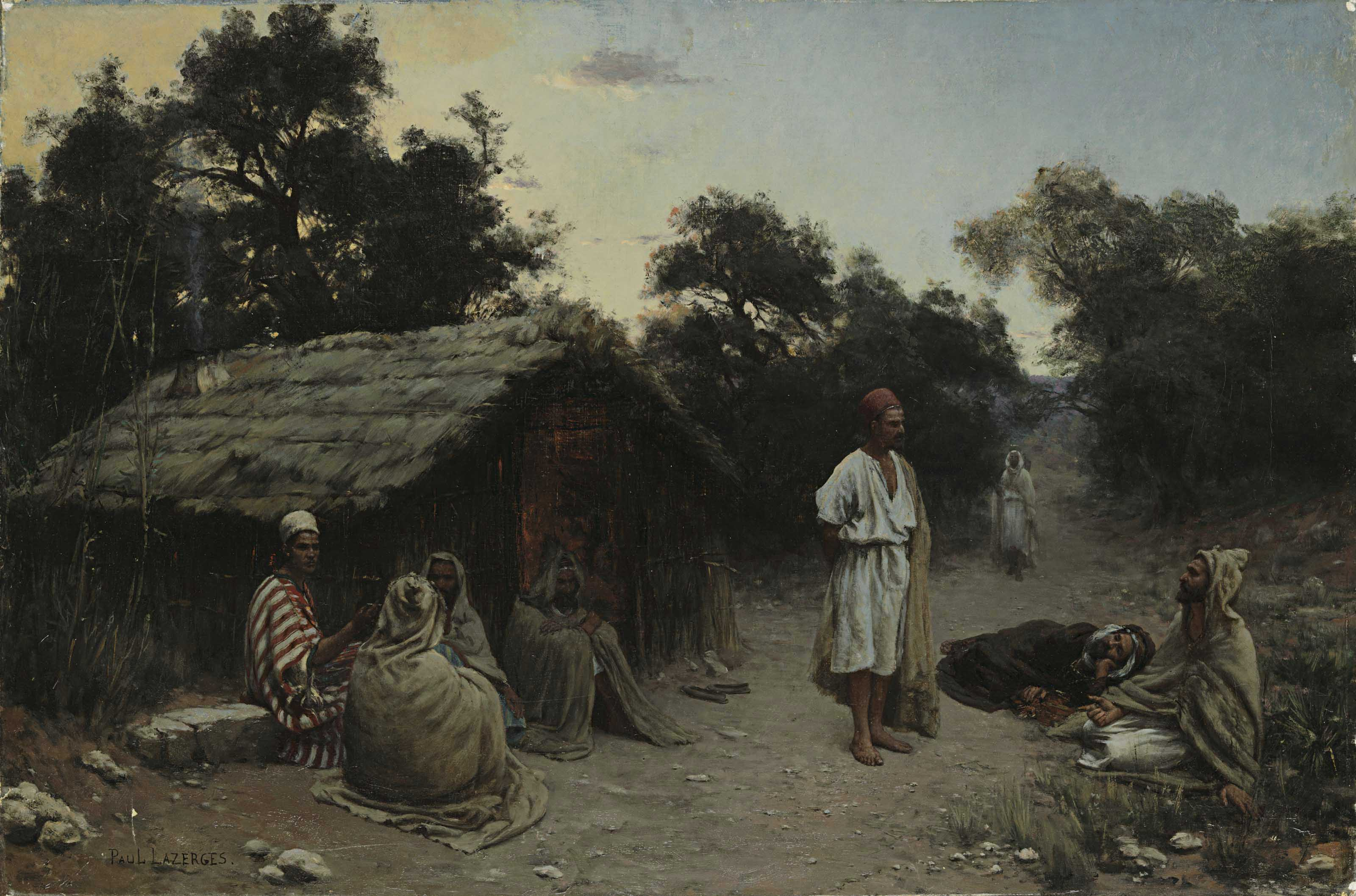 An Arab Encampment