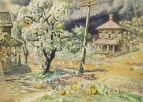 Charles Ephraim Burchfield (1893-1967)
