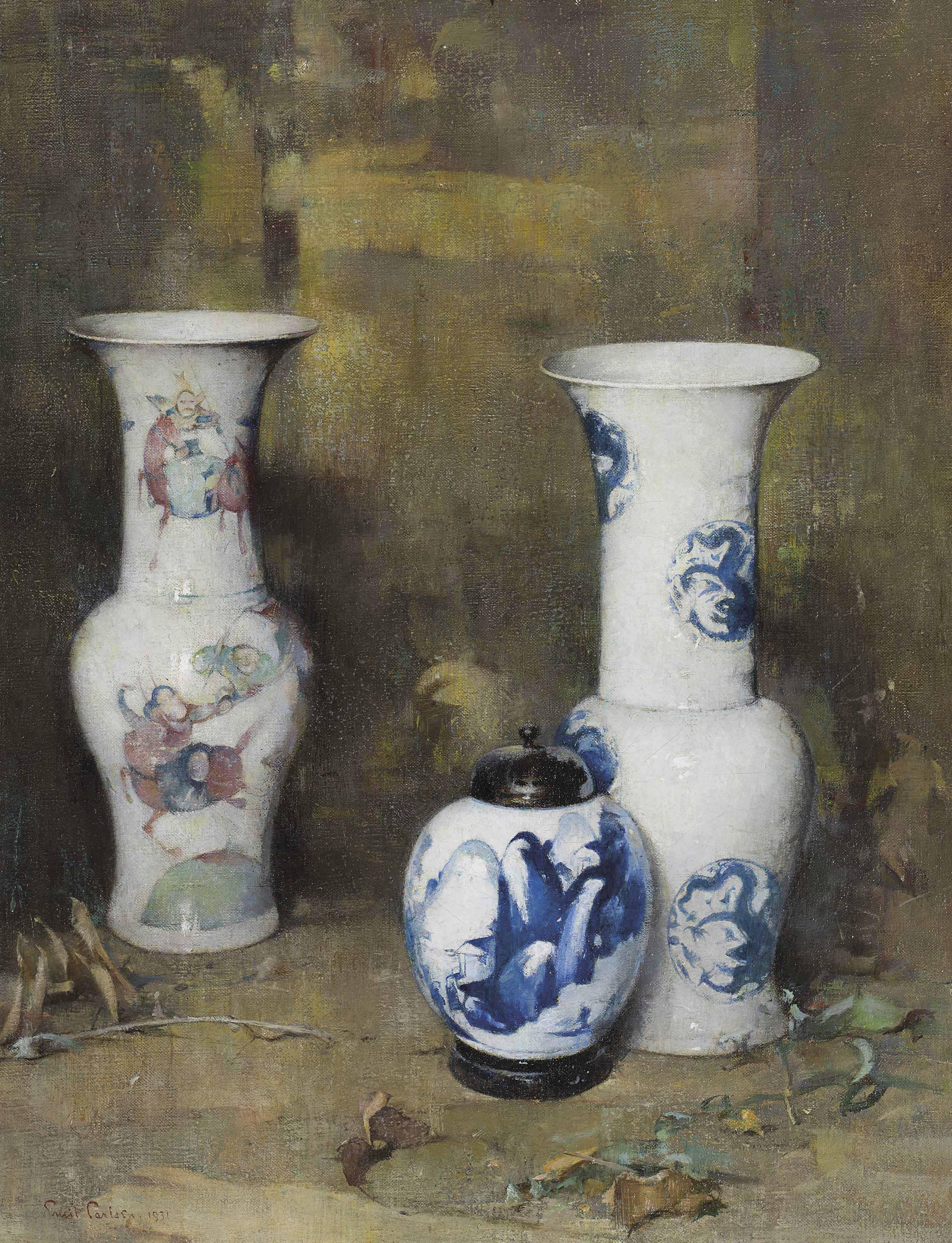 Ming Vases (and Ginger Jar)