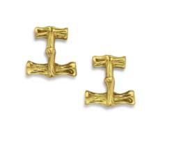 TIFFANY & CO GOLD CUFFLINKS