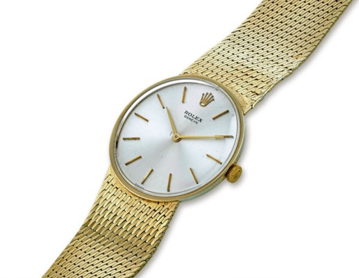 ROLEX GOLD WRISTWATCH