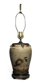 Chinese ceramic glazes collecting guide christies a cizhou type brown and cream glazed jar mounted china biocorpaavc Gallery