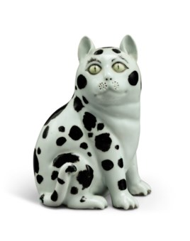 Chinese ceramic glazes collecting guide christies a chinese export porcelain figure of a seated cat biocorpaavc Gallery