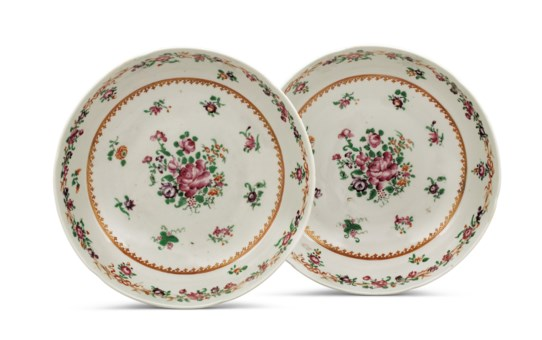 Chinese ceramic glazes collecting guide christies a pair of chinese export famille rose shallow biocorpaavc Gallery