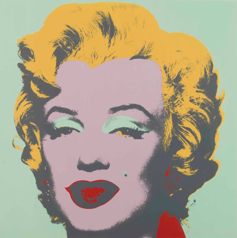 Andy Warhol (1928-1987), Marilyn one plate. Sheet 36 x 36  in (914 x 914  mm). Estimate $100,000-150,000. This lot is offered in Prints and Multiples on 19-20 April at Christie's in New York