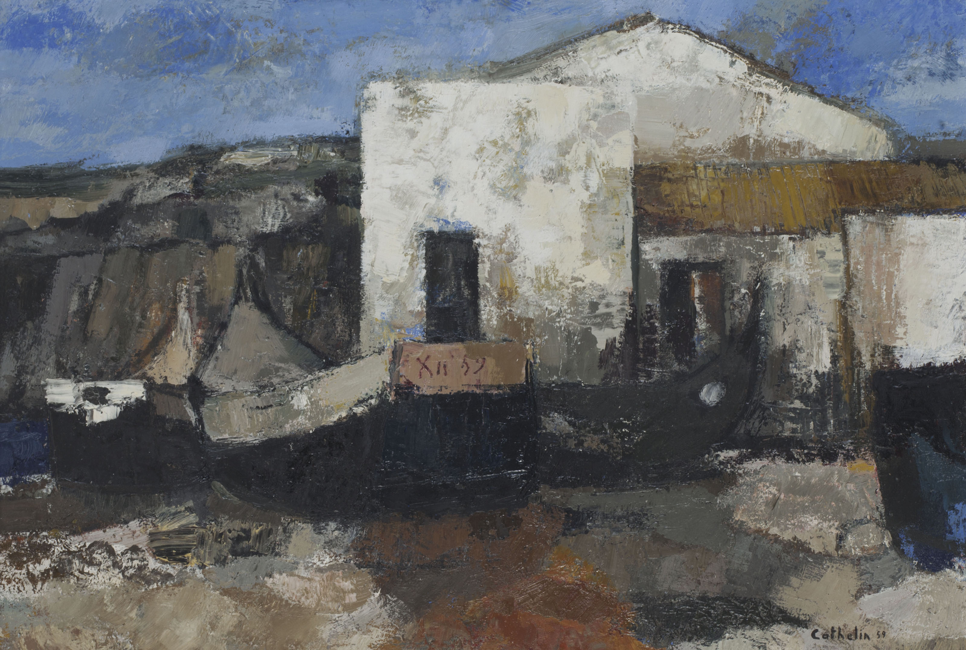 Bernard Cathelin (French, 1919