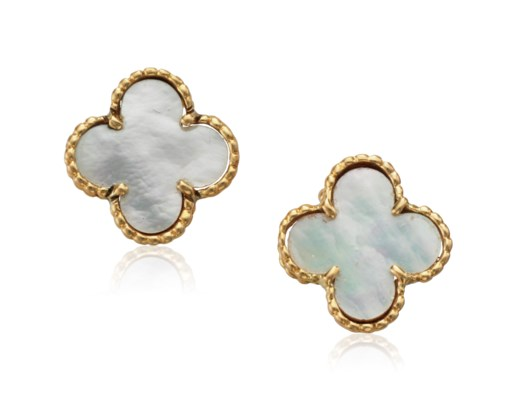 Van Cleef Arpels Vintage Alhambra Earrings