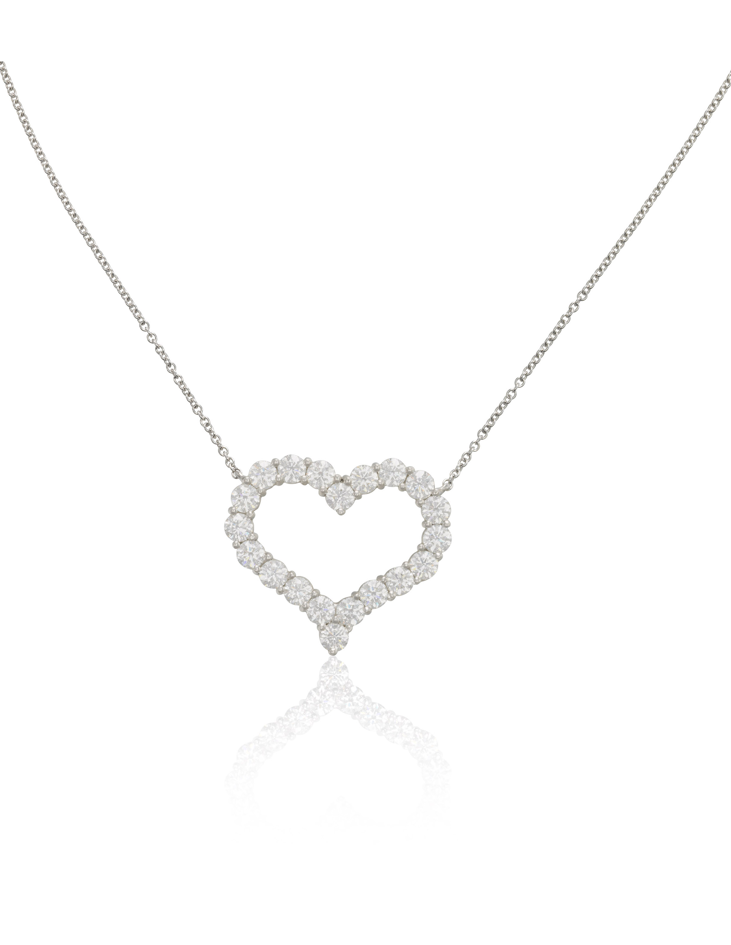 Tiffany co large diamond set heart pendant christies tiffany tiffany co large diamond set heart pendant aloadofball Choice Image